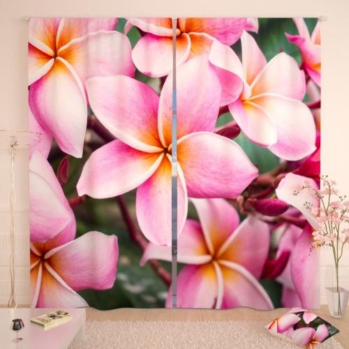Фотошторы Цветы тропиков