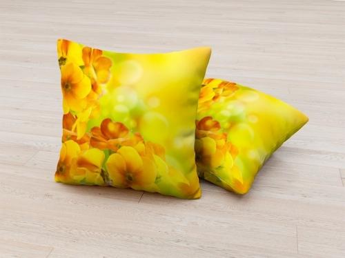 Фотоподушка Солнечный цветок