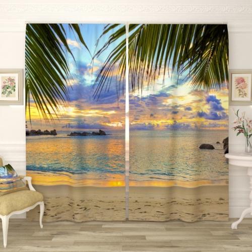 Фотошторы Райский пляж