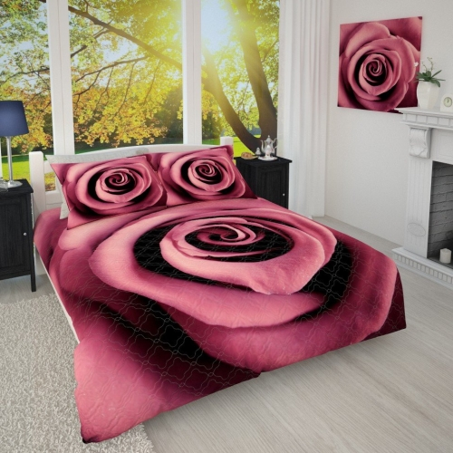Фотопокрывало  Бархатная роза