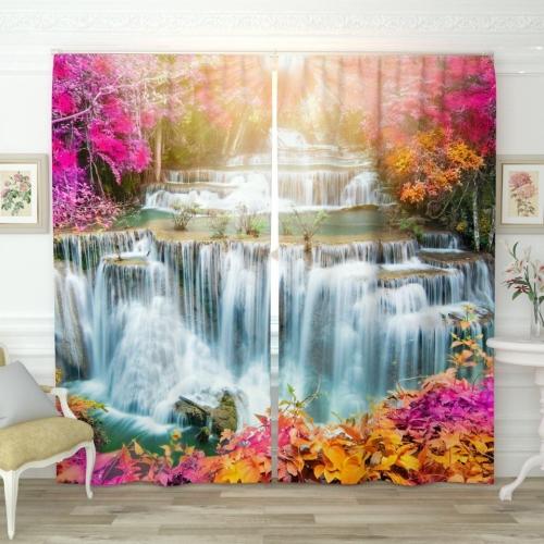 Фотошторы Солнечный водопад