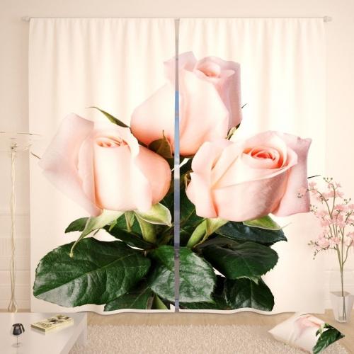 Фотошторы Букетик роз