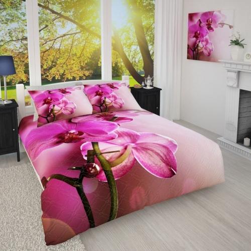 Фотопокрывало Розовая орхидея