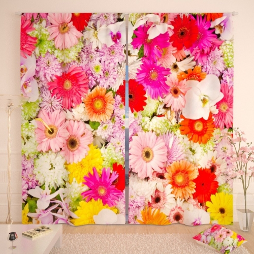 Фотошторы Ассорти из цветов