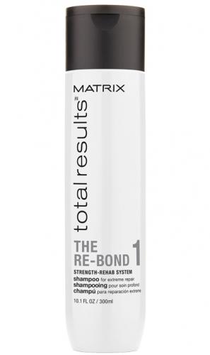 Matrix TR Re-Bond Шампунь для экстремального восстановления волос Шаг 1