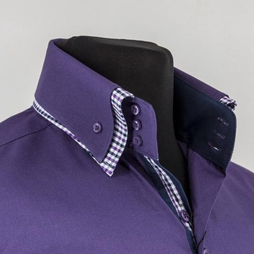 Мужская рубашка 237-3-m23sc-pdpr