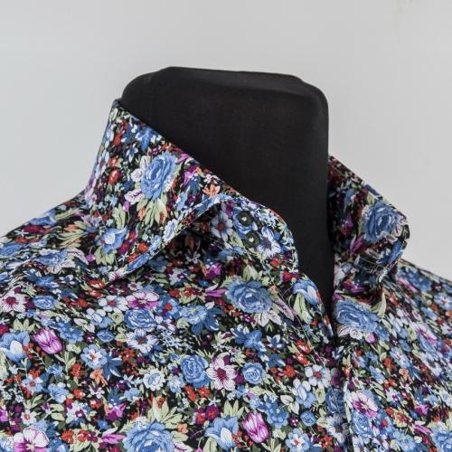 Мужская рубашка 225-9-m12n-flblk