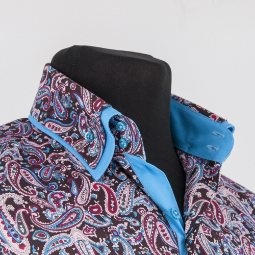 Мужская рубашка 219-12-m22s-psbrnb