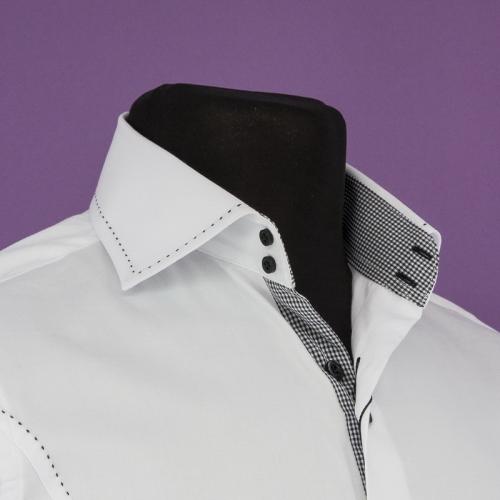 Мужская рубашка 231-3-m12cs-pwht