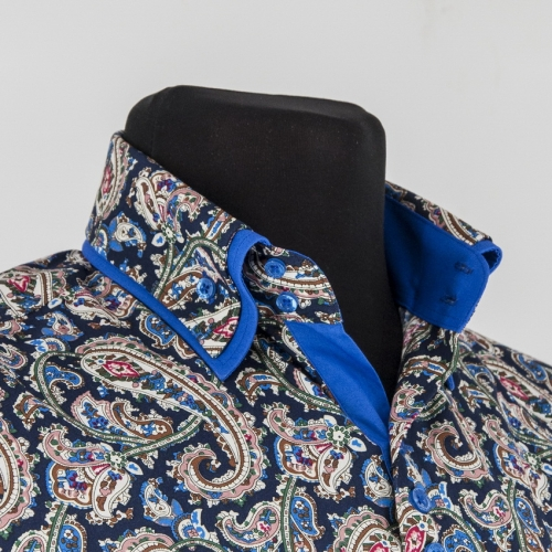 Мужская рубашка 219-15-m22s-psdbub