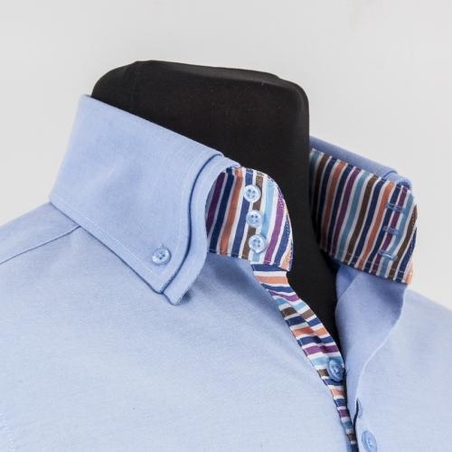 Мужская рубашка 234-8-m23st-flbu