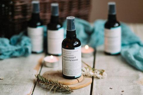 Сыворотка-спрей для волос Инулин+Протеины