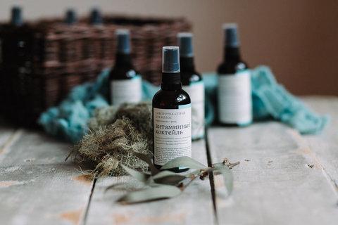 Сыворотка-спрей для термозащиты волос Витаминный коктейль