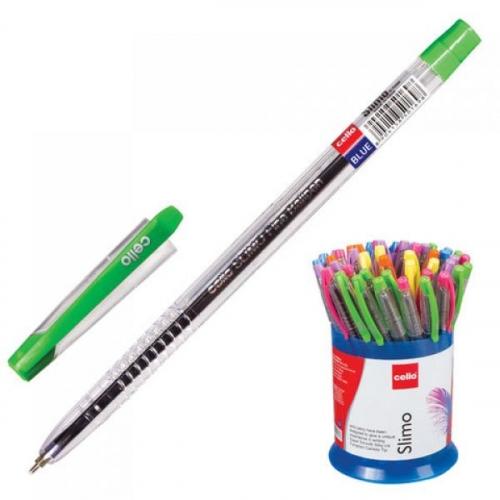 Ручка CELLO Slimo син 0.7 132мм иг корп асс 305 088020(0501698) (085968)