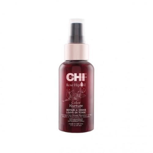 CHI ROSEHIP REPAIR AND SHINE  Тоник для волос  с маслом шиповника 118мл