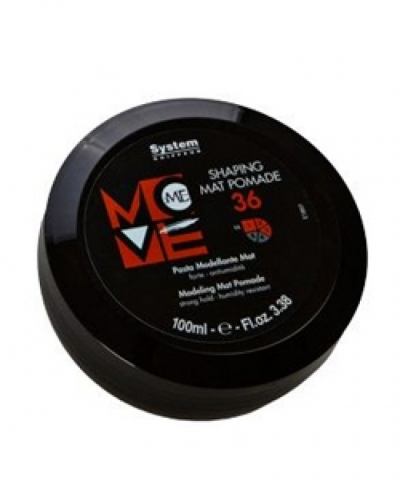 DIKSON MOVE ME 36 SHAPING MAT POMADE Паста д/моделир. матовая, 100 мл