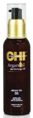 CHI  ARGAN OIL. Масло для волос с экстрактом масла арганы и дерева Маринга 89 мл
