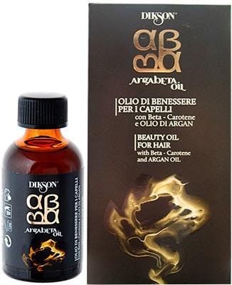 DIKSON ARGABETA OIL Масло для ухода за всеми типами волос с Бета-каротином и маслом Арганы 30 мл