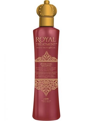 CHI ROYAL TREATMENT HYDRATING SHAMPOO Увлажняющий Шампунь (для Сухих и Поврежденных Окрашенных Волос) 355 мл.