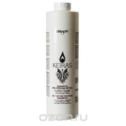 DIKSON. KEIRAS. COLORED HAIR / Shampoo Protezione Attiva - Шампунь Активная защита Аргана и Лен, 1000 мл