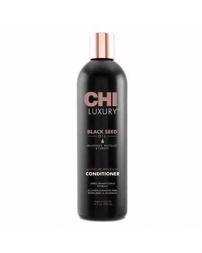 CHI LUXURY BLACK SEED OIL MOISTURE REPLENISH CONDITIONER Кондиционер для волос CHI Luxury с маслом семян черного тмина Увлажняющий 355 мл