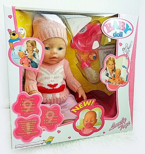 Интерактивный пупс Baby Doll (копия Ba*by Bo*rn)