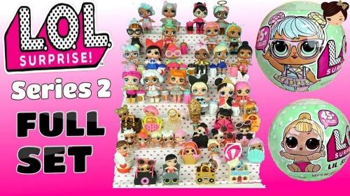 Кукла LOL 2-ая серия!! 7 слоёв!  (копия)