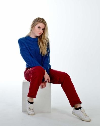 Стеганные утепленные женские брюки с высокой спинкой арт 115PS, цвет -бордо