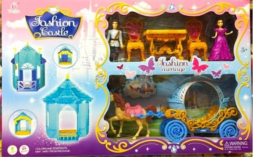 Игровой набор Fashion Castle (свет, звук)