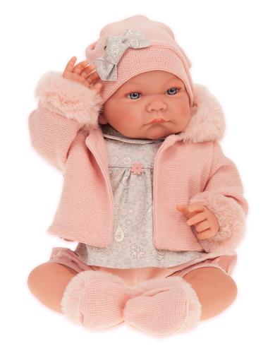 3 шт. доступно/ 3378P Кукла Наталия в розовом, 40см
