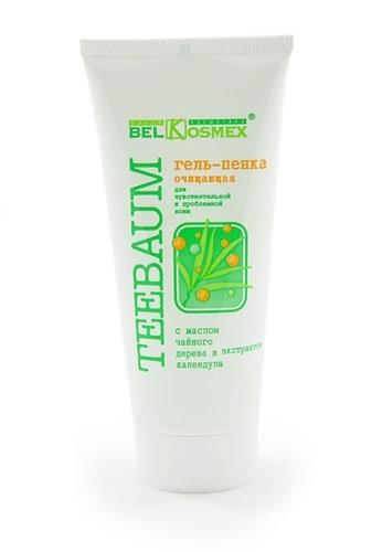 Гель-ПЕНКА очищ. для чувств. и пробл.кожи с масл.чайн.дерева и экс.календулы (80г)Teebaum Белкосмекс