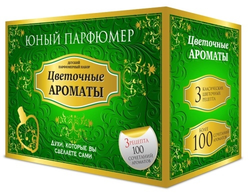 Набор Юный Парфюмер Цветочные ароматы