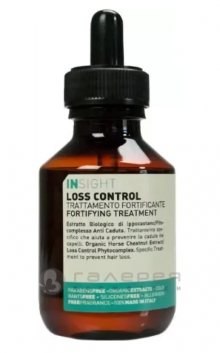Лосьон укрепляющий против выпадения волос Loss Control Fortifying treatment INSIGHT