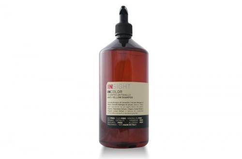 InsightANTI-YELLOW Шампунь для нейтрализации жёлтого оттенка волос
