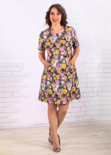 850 СМ Платье Комплимент