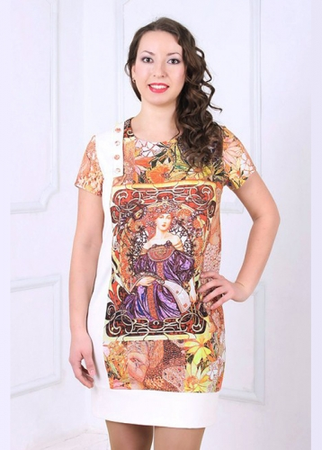 644  Платье женское