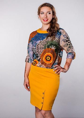 685 Платье Карусель