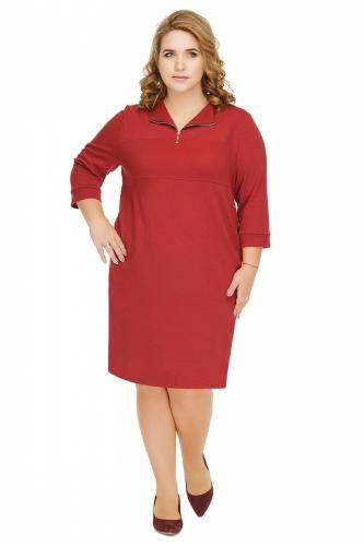 1048 Платье Марсала