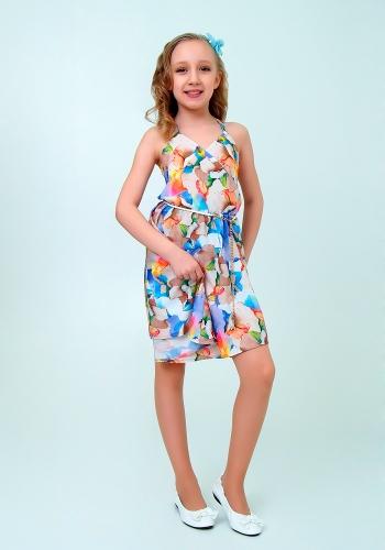 Платье детское / сиреневый