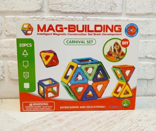 Магнитный конструктор Mag-Building (Маг Билдинг) 20 деталей