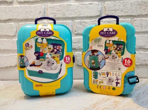 3в1 Рюкзак - чемодан - мойка для собачки с аксессуарами! ХИТ-ПРОДАЖ!!!