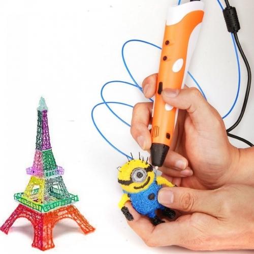 3D ручка, работает от сети