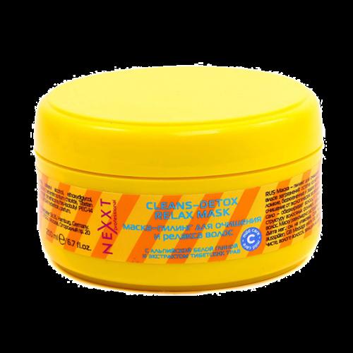 Маска-пилинг для очищения и релакса волос