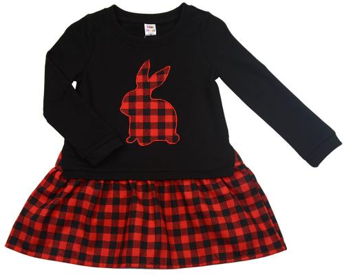 UD 2430(2)черный  Mini Maxi Платье (98-122см)