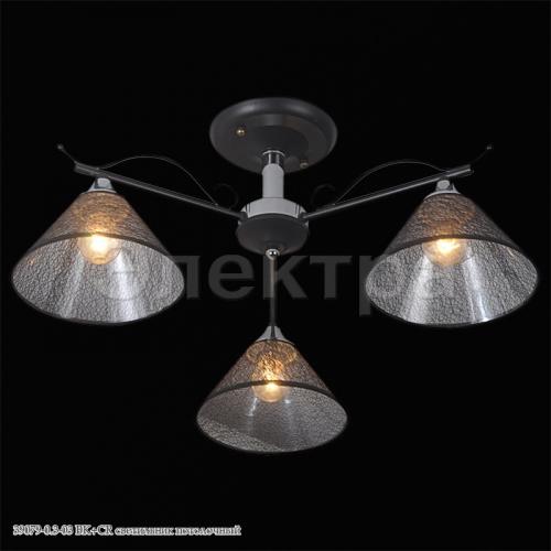 39079-0.3-03 BK+CR светильник потолочный