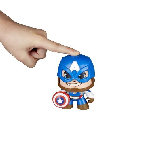 МАРВЕЛ Капитан Америка, меняет выражение лица (копия)