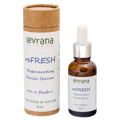 Сыворотка для лица REFRESH, регенерирующая, обновление кожных клеток /30мл /ТМ Levrana
