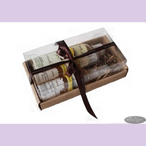 Набор подарочный №9 д/волос ВОССТАНОВЛЕНИЕ (шампунь200мл, кондиционер100мл, маслo50мл) ТМ Сhocolatte