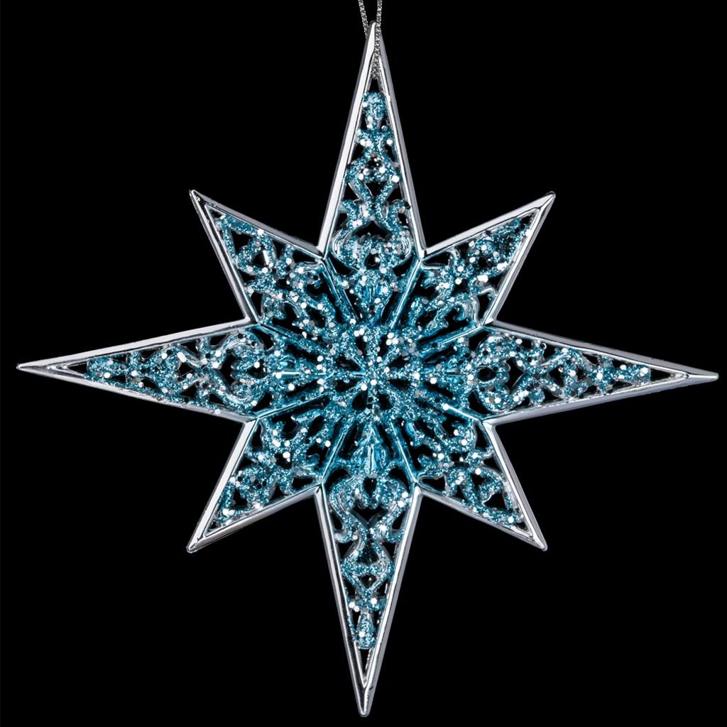 картинка снежинка звезда