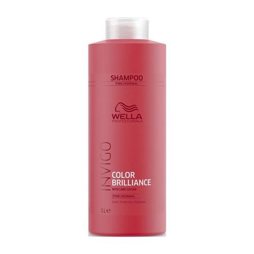 WELLA INVIGO Brilliance Шампунь для защиты цвета норм/тонк волос 1л.